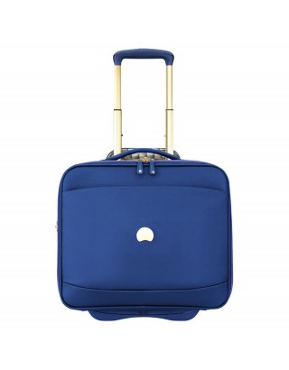"DELSEY PILOT CASE TROLLEY ( PORTABLE 15.6"")  2018450/02 BLEU"