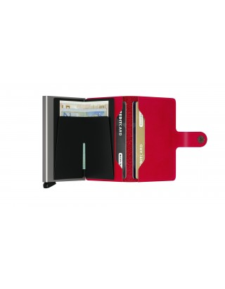 SECRID MINIWALLET ORIGINAL ROUGE