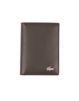 LACOSTE  PORTE CARTE NH 2303 MARRON