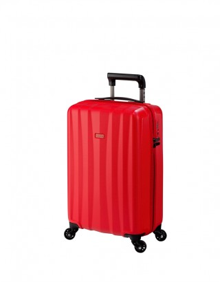 JUMP VALISE 4 ROUES 55 CM 3200 ROUGE